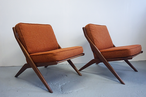 Folke Ohlsson Scissor chairs