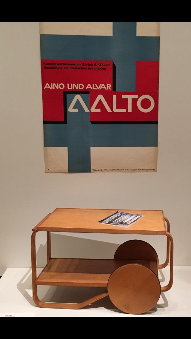 Aalto tea trolley MOMA
