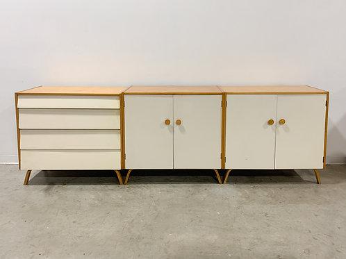 Rare Aalto Artek-Pascoe Dresser and Cabinets