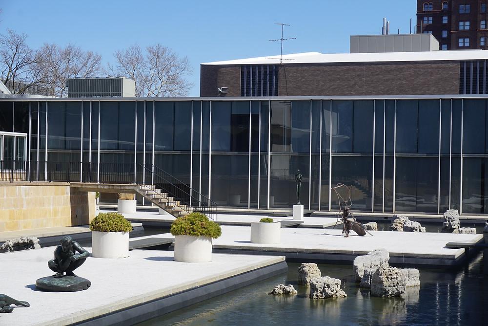 Minoru Yamasaki sculpture garden