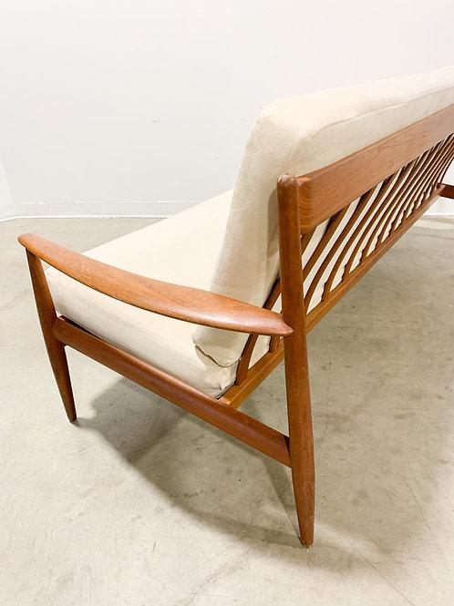 Grete Jalk Danish Modern Teak Sofa
