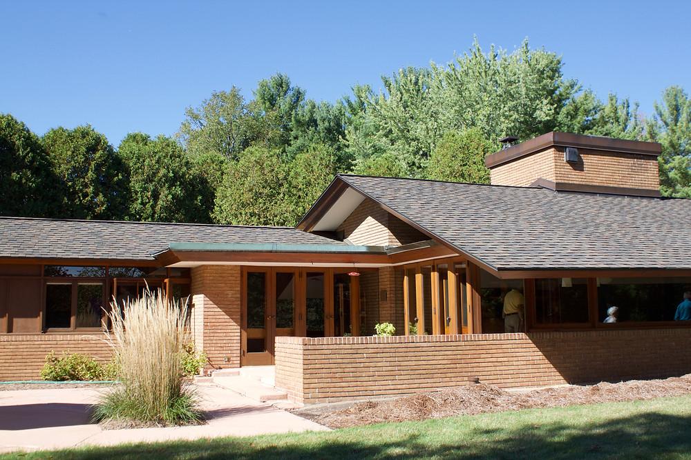 Schaberg House Frank Lloyd Wright Okemos