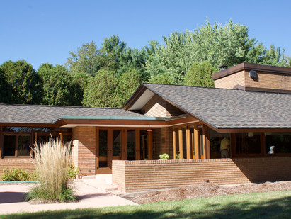 Touring Frank Lloyd Wright in Okemos, MI