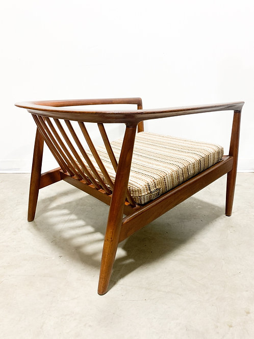 Dux teak lounge chair designed by Folke Ohlsson