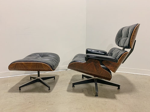 First Generation Eames lounge and ottoman by Herman Miller