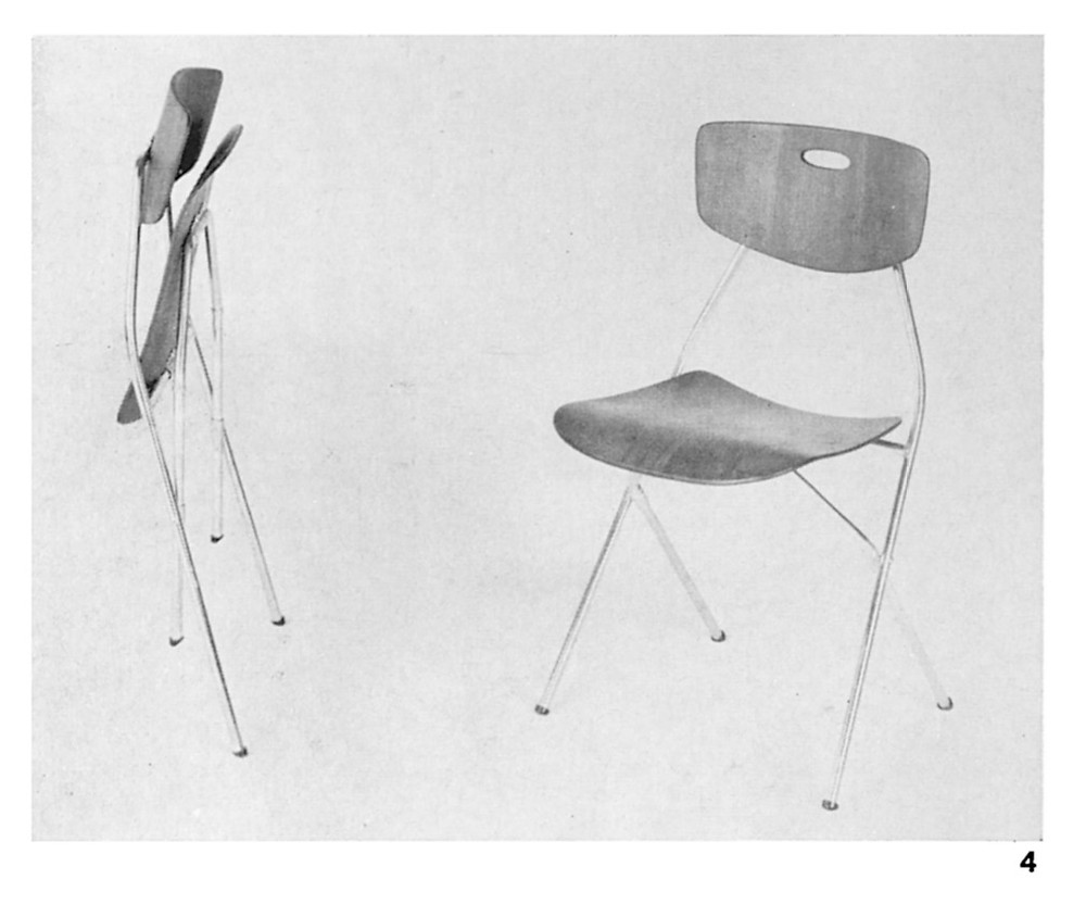 Mulhauser slimline folding chair Mesberg