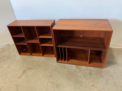 Hvidt & Molgaard modular bookcase and record player hutch