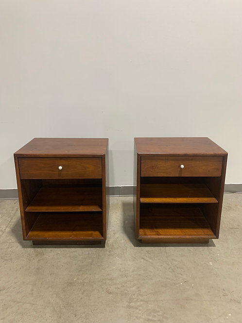 Pair of Kipp Stewart Drexel declaration nightstands