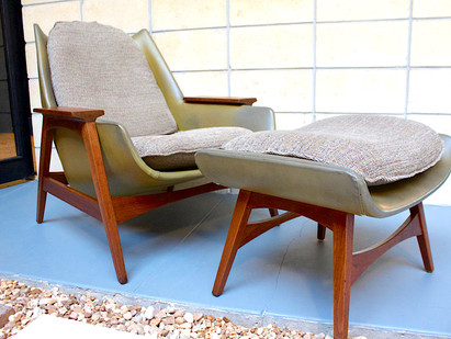 Foster McDavid's Mid-Century Lounge Chair...Or is it?
