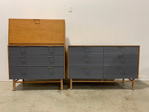 Dresser and desk by Raymond Loewy for Mengel