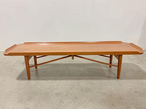 Finn Juhl Teak Bench by Baker