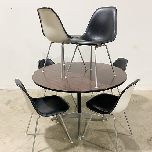 Eames Herman Miller Rosewood Dining set with 6 chairs