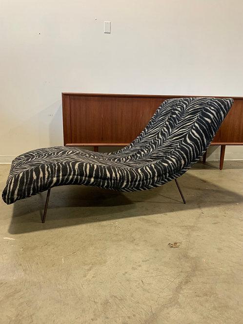 Adrian Pearsall iron leg chaise