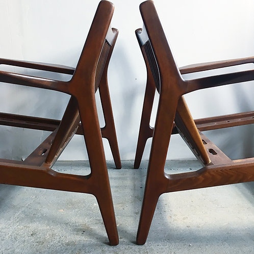Danish modern lounge chairs