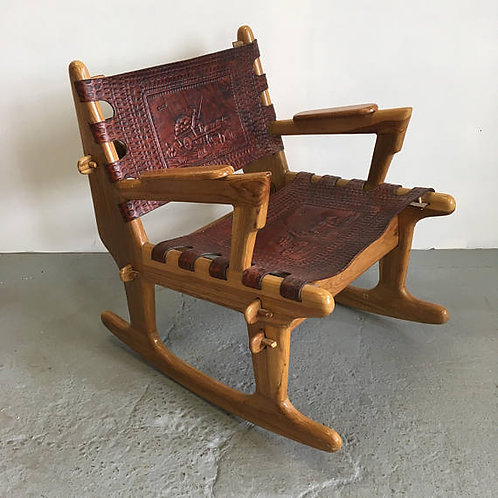 angel pazmino, south american modern, mid century rocking chair
