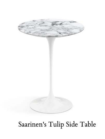 Eero Saarinen's Tulip Side Table for Knoll