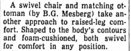Mr. Chair by Mesberg