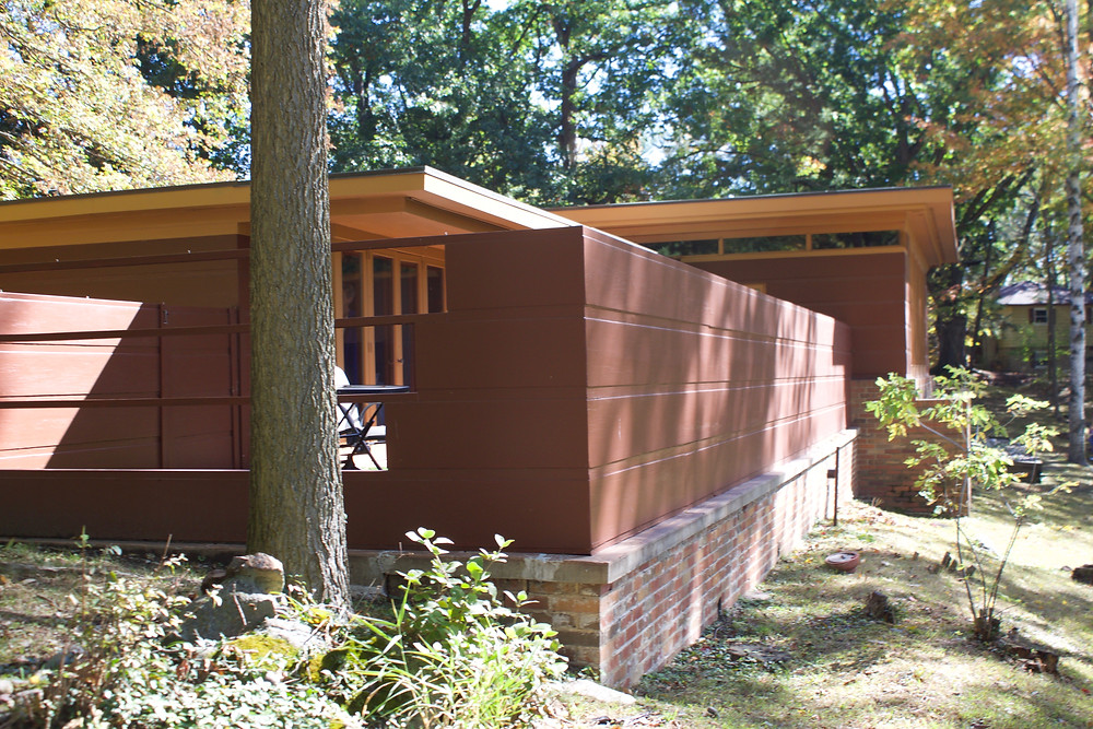 Goetsch-Winckler House, FLLW Okemos