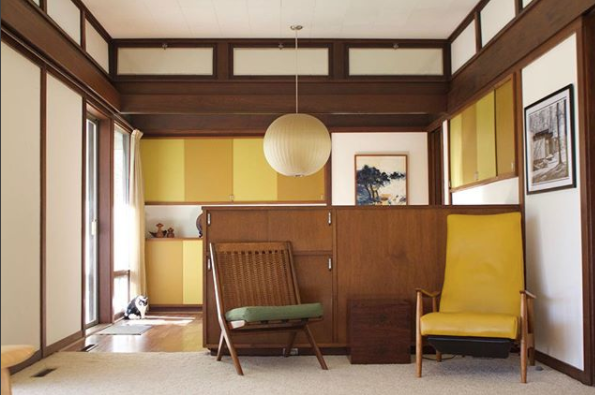 mid-century modern color palette