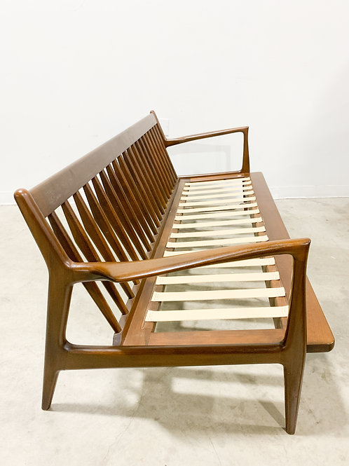 Kofod Larsen Danish 3 seat sofa for Selig
