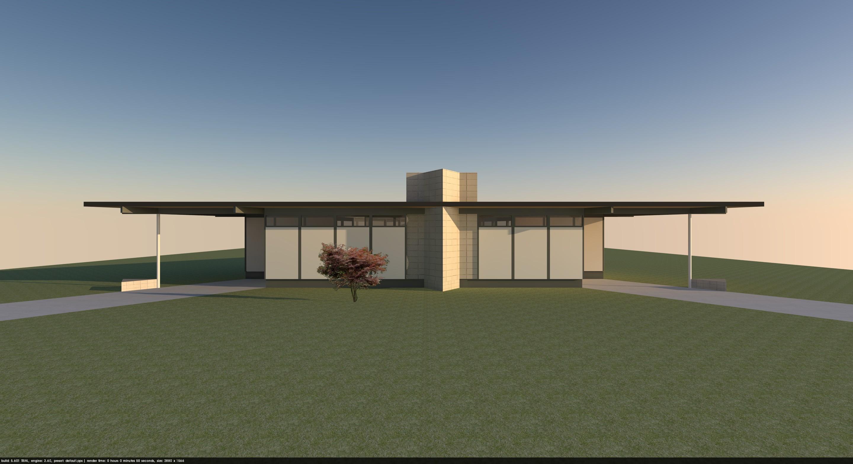 Triangular House 1