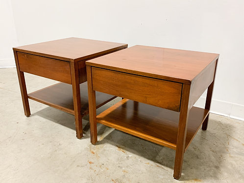 Pair of Florence Knoll side tables
