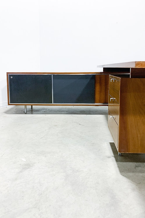 George Nelson Desk and credenza