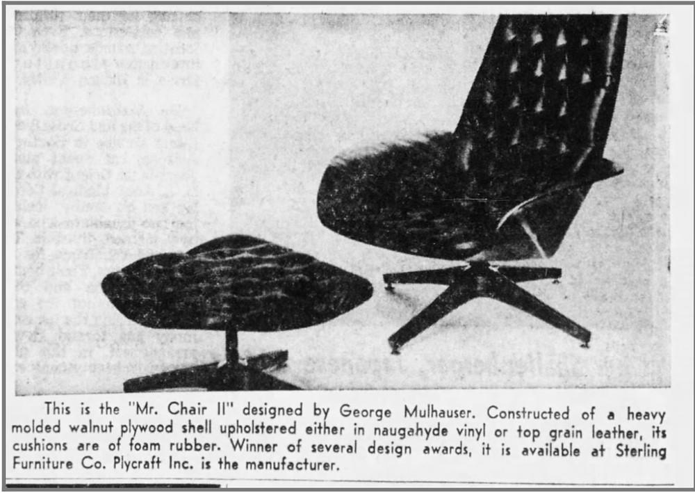 Mr. Chair II 2