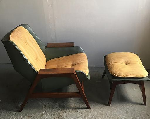 Foster McDavid lounge chair ottoman