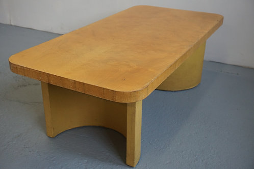 Rare early Herman Miller Gilbert Rohde coffee table Paldao group
