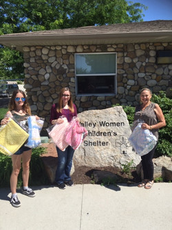Babies will love their blankets at Valley Women's and Children's Shelter, Nampa, ID