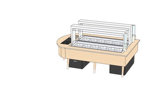 Kronen-Salatbar nach REWE-Konzept 2020 -