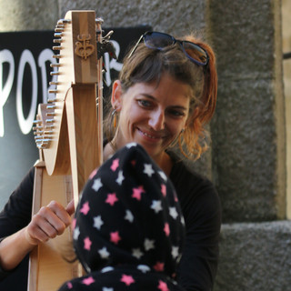 dinan, harpes en rue