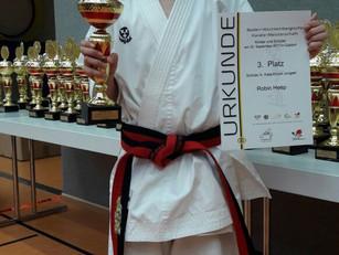 Robin Heep qualifiziert sich für die Deutsche Meisterschaft