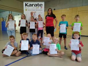 Karateschule Bad Säckingen beim Ferienspaß dabei