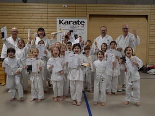 Kyu-Prüfungen in der Karateschule Bad Säckingen