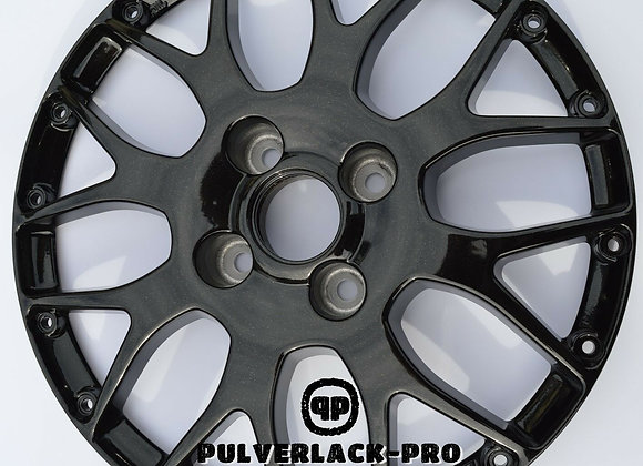 PULVERLACK-CFX-Pro CrystalBlack Effekt-Metallic 1,0 kg glatt/glänzend