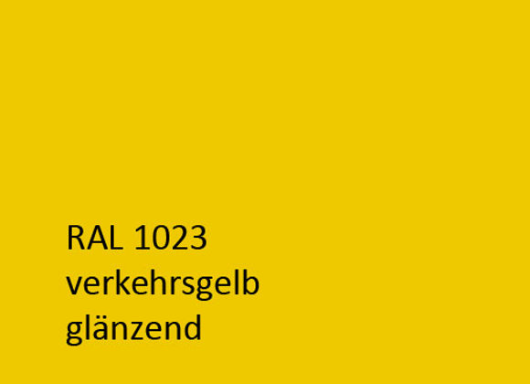 RAL 1023 verkehrsgelb,  1,0 kg