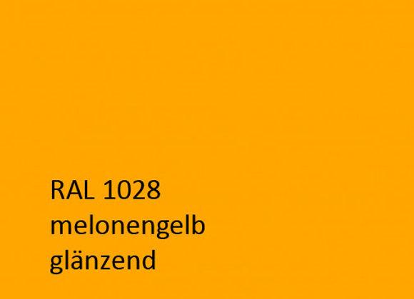 RAL 1028 melonengelb,  1,0 kg