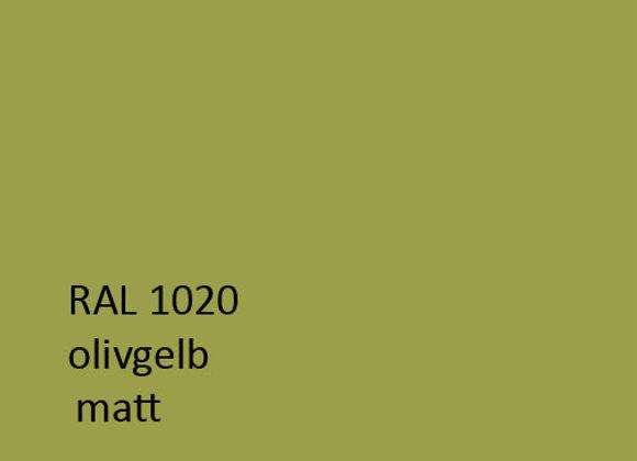 RAL matt 1020 olivgelb,  1,0 kg