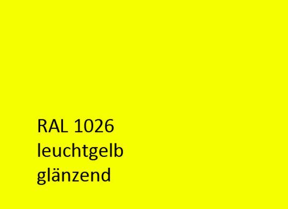 RAL 1026  leuchtgelb,  1,0 kg