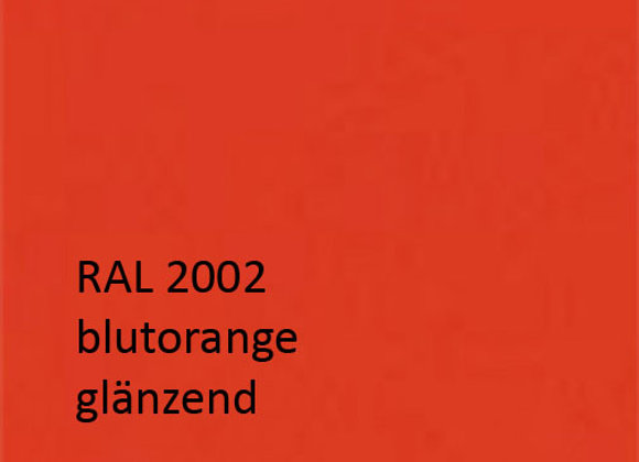 RAL 2002 blutorange,  1,0 kg