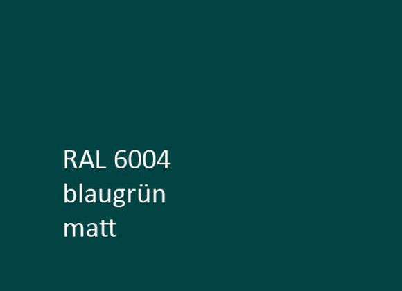 RAL matt 6004 blaugrün,  1,0 kg