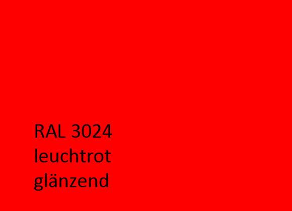RAL 3024 leuchtrot,  1,0 kg