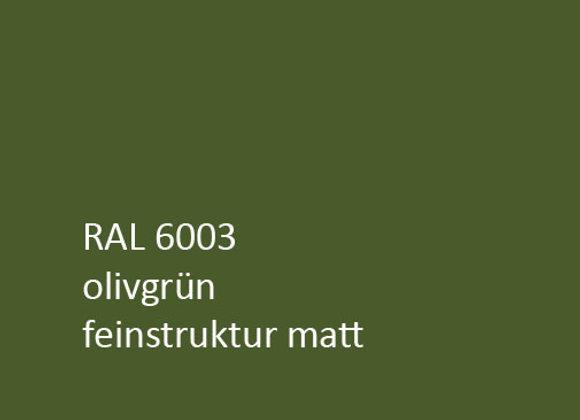RAL matt feinstruktur 6003 olivgrün,  1,0 kg