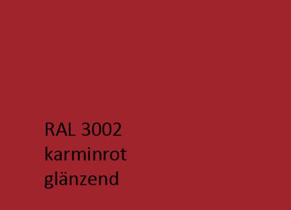 RAL 3002 karminrot,  1,0 kg