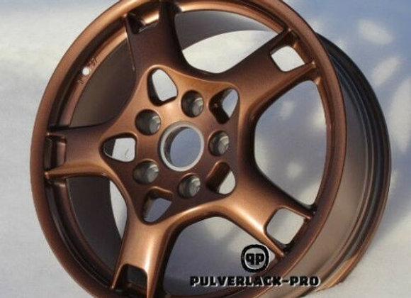 PULVERLACK-CFX-Pro Copper Bronze Effekt-Metallic  1,0 kg glatt/glänzend