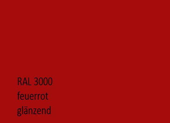 RAL 3000 feuerrot,  1,0 kg