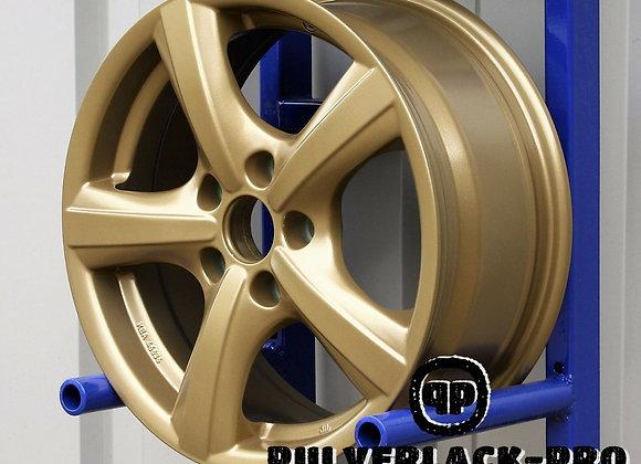 PULVERLACK-CFX-Pro Messing Effekt-Metallic seidenmatt 1,0 kg