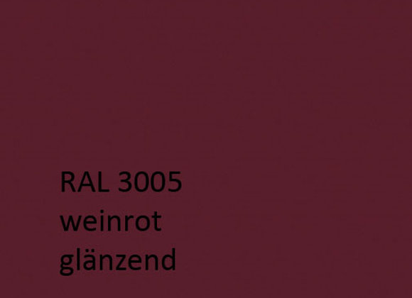 RAL 3005 weinrot,  1,0 kg
